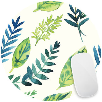 Leafy Greens Mouse Pad Decal