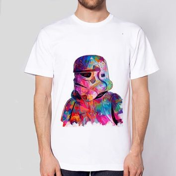Mens Cotton Star Wars Various Funny T-Shirts