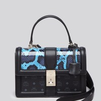 MCM Satchel - Tracy Small | Bloomingdales's