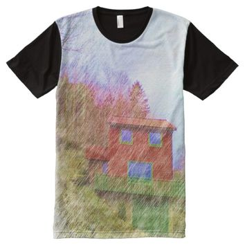 The red house All-Over-Print T-Shirt
