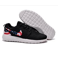 """Love """"NIKE"""" United States flag Trending Fashion Casual Sports Shoes"""