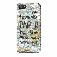 Paper Towns John Green iPhone 5s Case