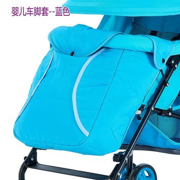 Multifunctional thermal Baby Foot Sleeve Accessoire Poussette Stroller Oxford Footmuff Baby Stroller Accessories
