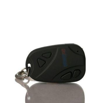 DCCKH0D Car Key Chain Faint luminosity Spy Video Camera USB Charger PC Connect