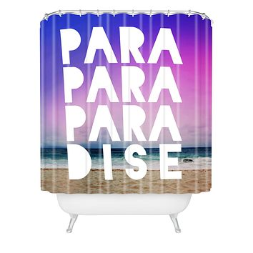 Leah Flores Paradise Shower Curtain