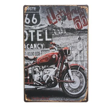 Motorcycle Series Retro Tin Sign