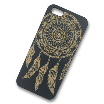 iPhone 5c - Dream Catcher Wooden Phone Case