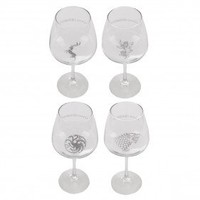 Game of Thrones House Sigil Wine Glasses [Set of 4]