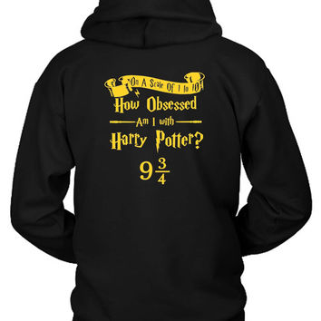 Harry Potter Obsession Hoodie Two Sided