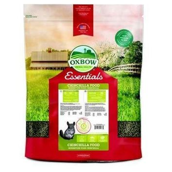 Oxbow Essentials Deluxe Chinchilla Food 25 lbs