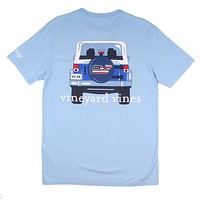 Jeep Back C.C. Prep Pocket T-Shirt in Jake Blue by Vineyard Vines