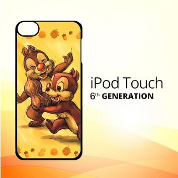 Chip n Dale Childhood Memories F0392 iPod Touch 6 Case