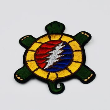 Grateful Dead Terrapin Patch Embroidered Iron On Patches