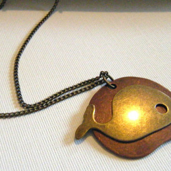 Whale necklace by BaublesByJill on Etsy