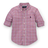 BLAKE PLAID COTTON SHIRT