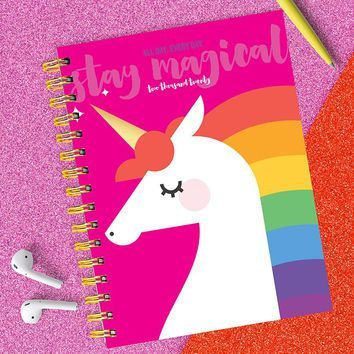 All Day Unicorn Medium Weekly/Monthly Planner