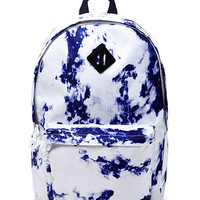 Marble Print Backpack