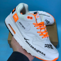 DCCK N550 Nike Air Max Just Do It Low Running Shoes White Orange
