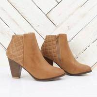 Quilted Back Booties   Altar'd State