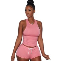 2 Piece Cotton Workout Yoga Set