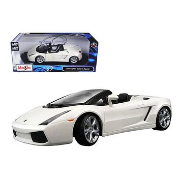 Lamborghini Gallardo Spyder 1:18 Diecast Model Car by Maisto