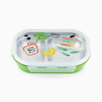 on the go pretty pantry lunch box | Kate Spade New York