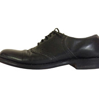 Black Oxford Shoe Men Dress Shoe Wingtips Men Oxford Shoe Blucher Derby Shoe Men Shoe Size 10