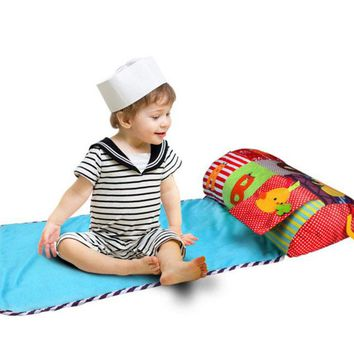 Children education Activity Crawling Gym Crawling Play Mat Game Blanket Baby On Pillow Infant Floor Nap Gear Padded Bolster