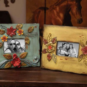 2 Picture Frames - Floral