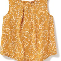 Patterned Button-Back Swing Top for Toddler | Old Navy