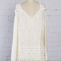 Swan Lake Fringe Sweater