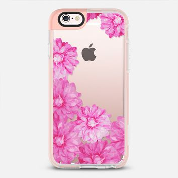 Flowers in pink iPhone 6s case by Julia Grifol Diseñadora Modas-grafica | Casetify