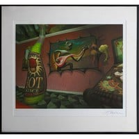 Pre-owned Hot Sauce Giclee Print by Mark Ryden