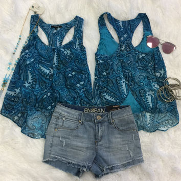Perfectly Paisley Top