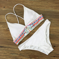 Swimsuit Summer Hot New Arrival Sexy Beach Simple Design Stylish Swimwear Bikini [10603732303]