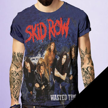 Skid Row Rock and Roll Tshirt by BornRocker Brand