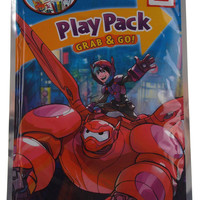 Lot 5 Big Hero 6 Play Pack Grab & Go Coloring Book Crayons Stickers Party Favors