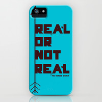 Real or not Real iPhone & iPod Case by Lauren Lee Designs