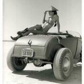 El Mirage High Boy Pin Up Girl Poster