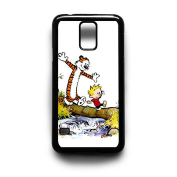 Calvin and Hobbes Walk Samsung Galaxy S3 S4 S5 Note 2 3 4 HTC One M7 M8 Case