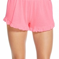 Junior Women's Ten Sixty Sherman Ruffle Shorts,