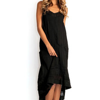 Twelfth Street || Western dress in black