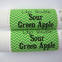 Sour Green Apple - Lip Balm - Natural - Vegan -  No sweeteners - Bath and Beauty - Home and Living - Fruit Flavor