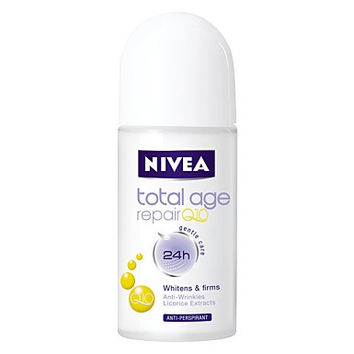 Nivea Q10 Total Age Repair Antiperspirant Roll-on 50ml