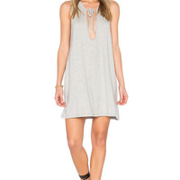 EASTNWEST Cora Dress in Heather Gray | REVOLVE
