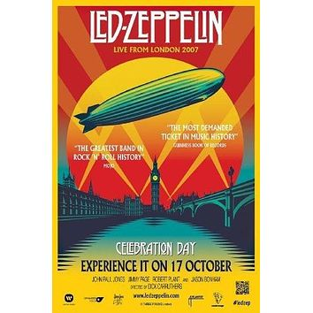 Led Zeppelin Celebration Day 11inx17in Mini Poster