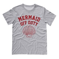 Mermaid Off Duty (Red) Shirt
