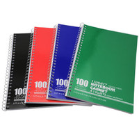 Bulk Small Spiral-Bound Notebooks, 100 Sheets at DollarTree.com