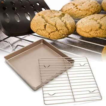 CREYLD1 Kitchen Nonstick Cooling Rack Bread Cookies Baking Rack Stand Cake Oven Baking Pan Holder Bakeware Kitchen Tools Accessories