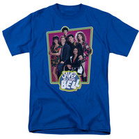 SAVED BY THE BELL/SAVED CASE-S/S ADULT 18/1 - ROYAL -